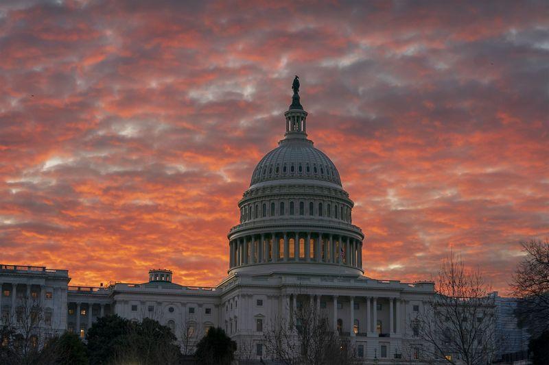 """Jungtinių Valstijų Kapitolijus. J. Scotto Applewhite'o (AP / """"Scanpix"""") nuotr."""