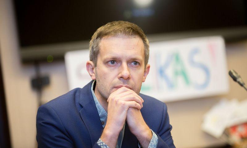 """""""Laisvės TV"""" įkūrėjas, žurnalistas Andrius Tapinas. Josvydo Elinsko (""""Scanpix"""") nuotr."""