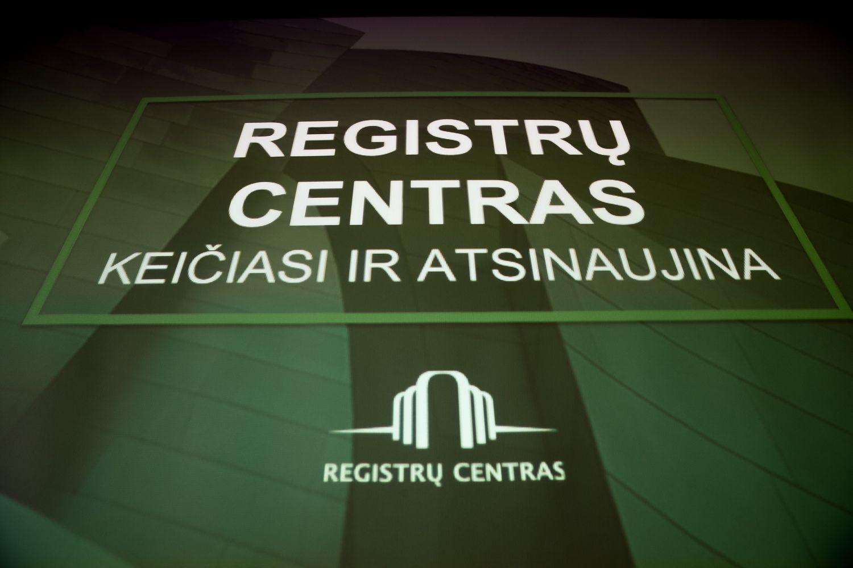VĮ Registrų centras 2018 m. uždirbo 2 mln. Eur grynojo pelno