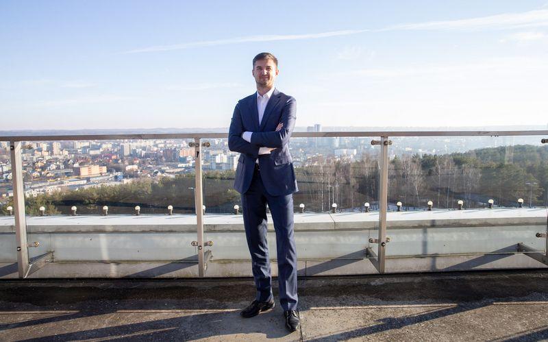 """""""Akropolis Group"""" direktorius ir valdybos narys Vytautas Labeckas. Juditos Grigelytės (VŽ) nuotr."""