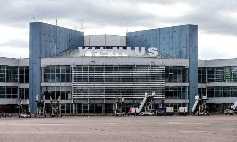 Tarptautinis Vilniaus oro uostas. Juditos Grigelytės (VŽ) nuotr.