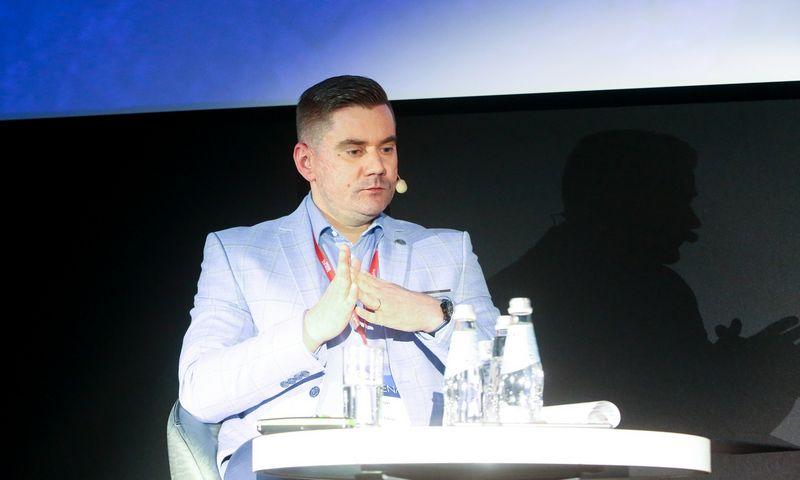 """Edvinas Rybelis, """"Autolink Lithuania"""" generalinis direktorius ir valdybos narys. Vladimiro Ivanovo (VŽ) nuotr."""