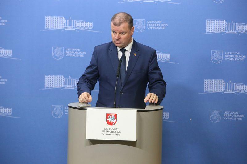 Premjeras Saulius Skvernelis jau tris mėnesius neranda tinkamo aplinkos ministro. Vladimiro Ivanovo (VŽ) nuotr.
