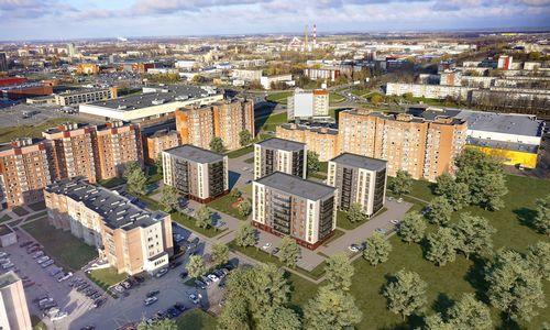 Į daugiabučių projektą Klaipėdoje investuoja 9 mln. Eur