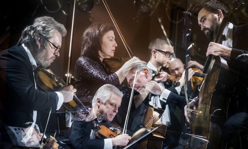 """Orkestro muzikos koncertas """"Baroko dialogai"""". Lietuvo nacionalinės filharmonijos nuotr."""