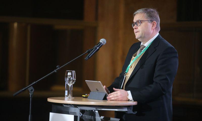 Lietuvos banko valdybos pirmininkas Vitas Vasiliauskas. Vladimiro Ivanovo (VŽ) nuotr.