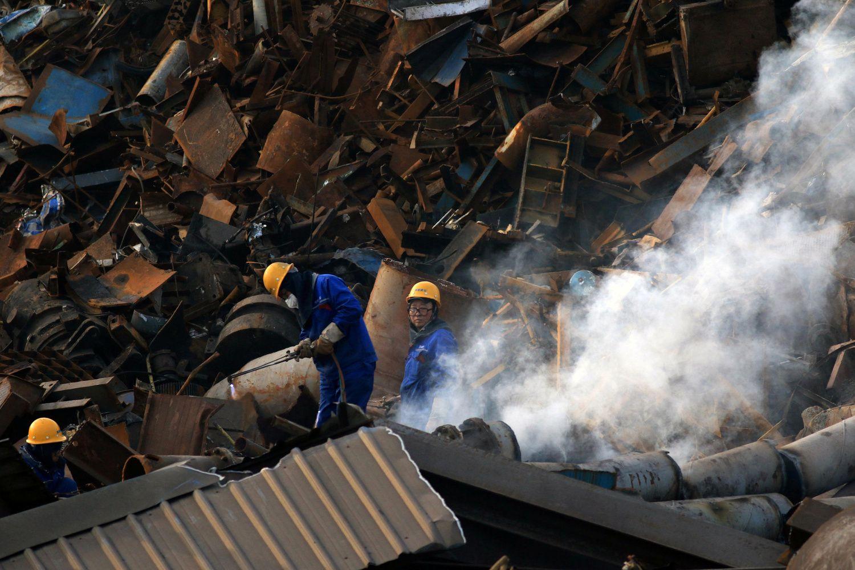 Prastėję Kinijos prekybos duomenys išgąsdino investuotojus