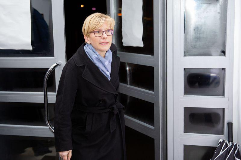"""Ingrida Šimonytė. Josvydo Elinsko (""""Scanpix"""") nuotr."""