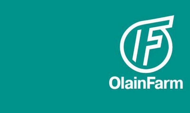 """Olainfarm"" logotipas."