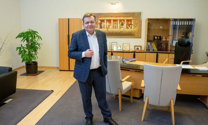 """Kęstutis Šerpytis, AB """"Lietuvos draudimas"""" generalinis direktorius. Juditos Grigelytės (VŽ) nuotr."""