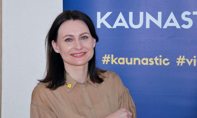 """Inga Pažereckaitė-Kalėdienė, VšĮ """"Kaunas IN"""" Turizmo skyriaus vadovė. Vytauto Gaižausko nuotr."""