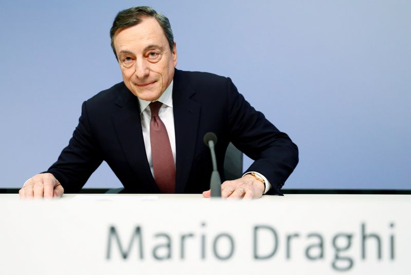 "Mario Draghi, ECB vadovas. Kai Pfaffenbach (""Reuters"" / ""Scanpix"") nuotr."