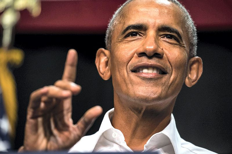 Barackas Obama. Barbaros Davidson (AFP) nuotr.