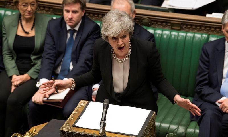 """""""Brexit"""" be susitarimo reiškia, kad Jungtinė Karalystė Europos Sąjungai taps trečiąja šalimi. """"Reuters"""" nuotr."""