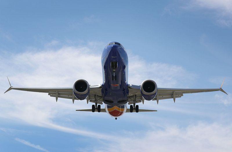 """Po dviejų avarijų """"Boeing 737 Max 8"""" skrydžius draudžia vis daugiau valstybių.  AFP / """"Scanpix"""" nuotr."""