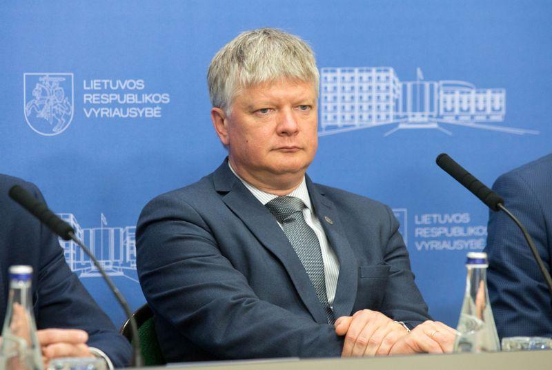 Aplinkos ministro kėdė laisva nuo tada, kai pernai gruodžio pradžioje iš jos buvo išverstas Kęstutis Navickas. Juditos Grigelytės (VŽ) nuotr.