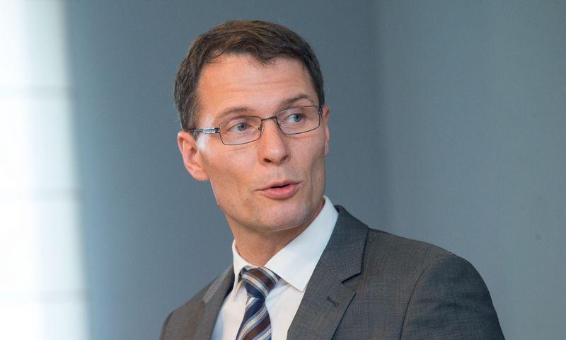 Teisingumo ministras Elvinas Jankevičius. Juditos Grigelytės (VŽ) nuotr.