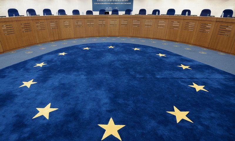 """Europos žmogaus teisių teismas. Fredericko Florino (AFP / """"Scanpix"""") nuotr."""