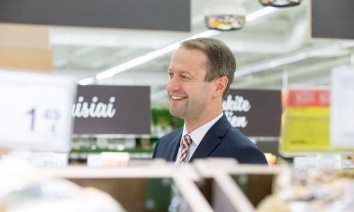 """""""Maximos LT"""" valdybos pirmininku paskirtas D. Misiūnas"""