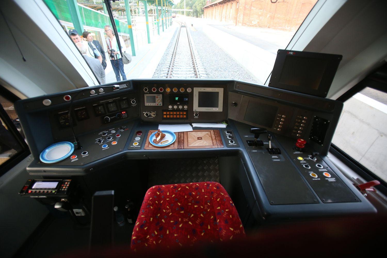 """""""Rail Baltica"""" eismo plane – intensyvus greitųjų traukinių eismas"""