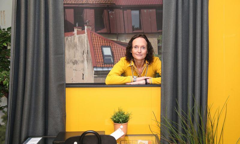 """Kristina Mažeikytė, """"IKEA Baltics""""  rinkodaros  vadovė. Vladimiro Ivanovo (VŽ) nuotr."""