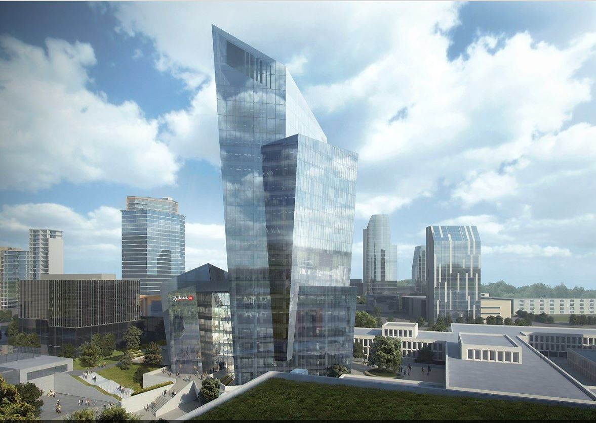 Vilniuje leista statyti D.Libeskindo suprojektuotą pastatą