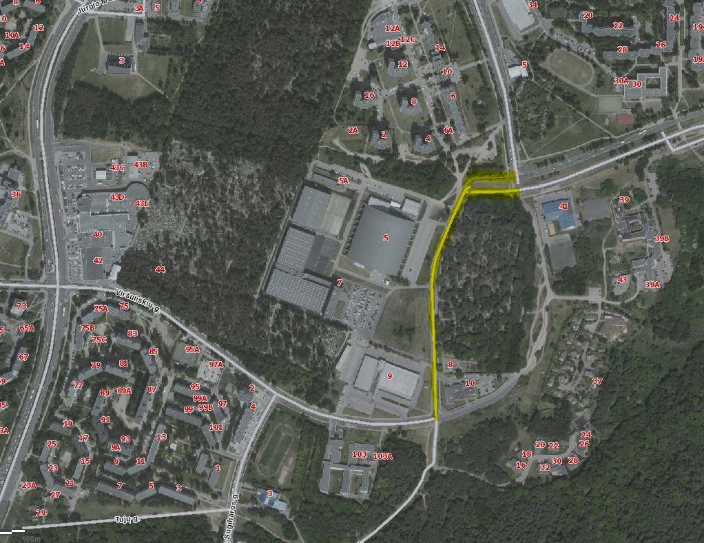 Vilniuje ruošiamasi sutvarkyti Ąžuolyno gatvę