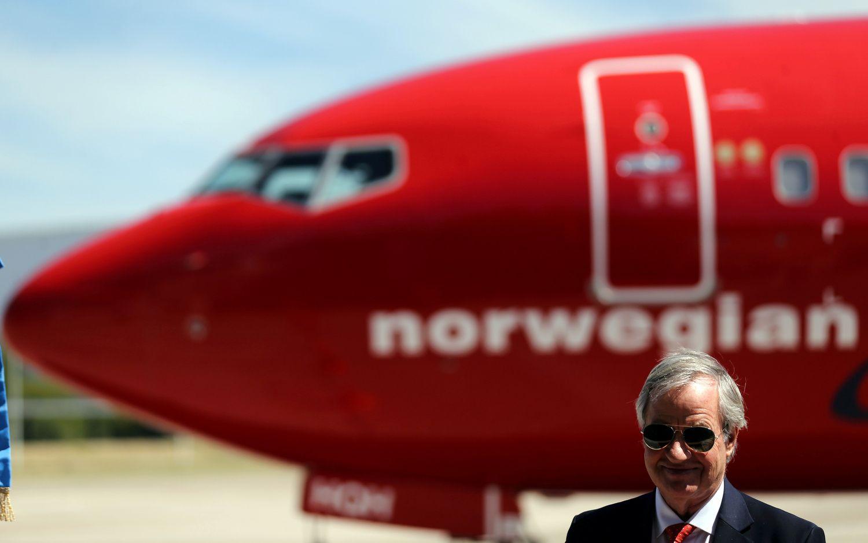 """Atpigo18 """"Boeing"""" lėktuvų nutupdžiusios """"Norwegian"""" akcijos"""