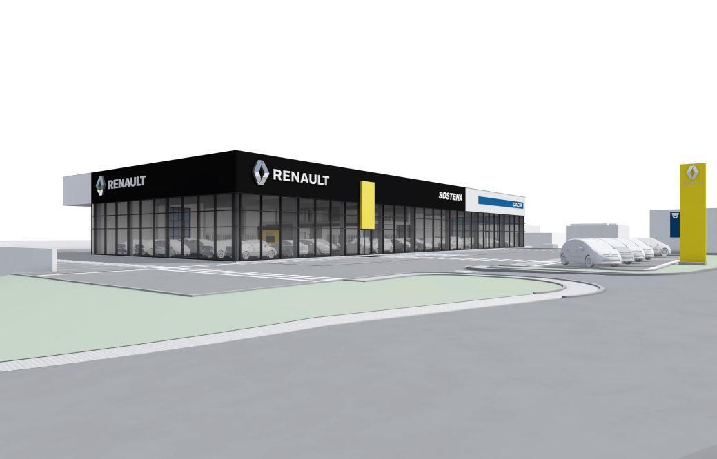 """""""Sostena"""" Vilniuje planuoja statyti naują automobilių saloną"""
