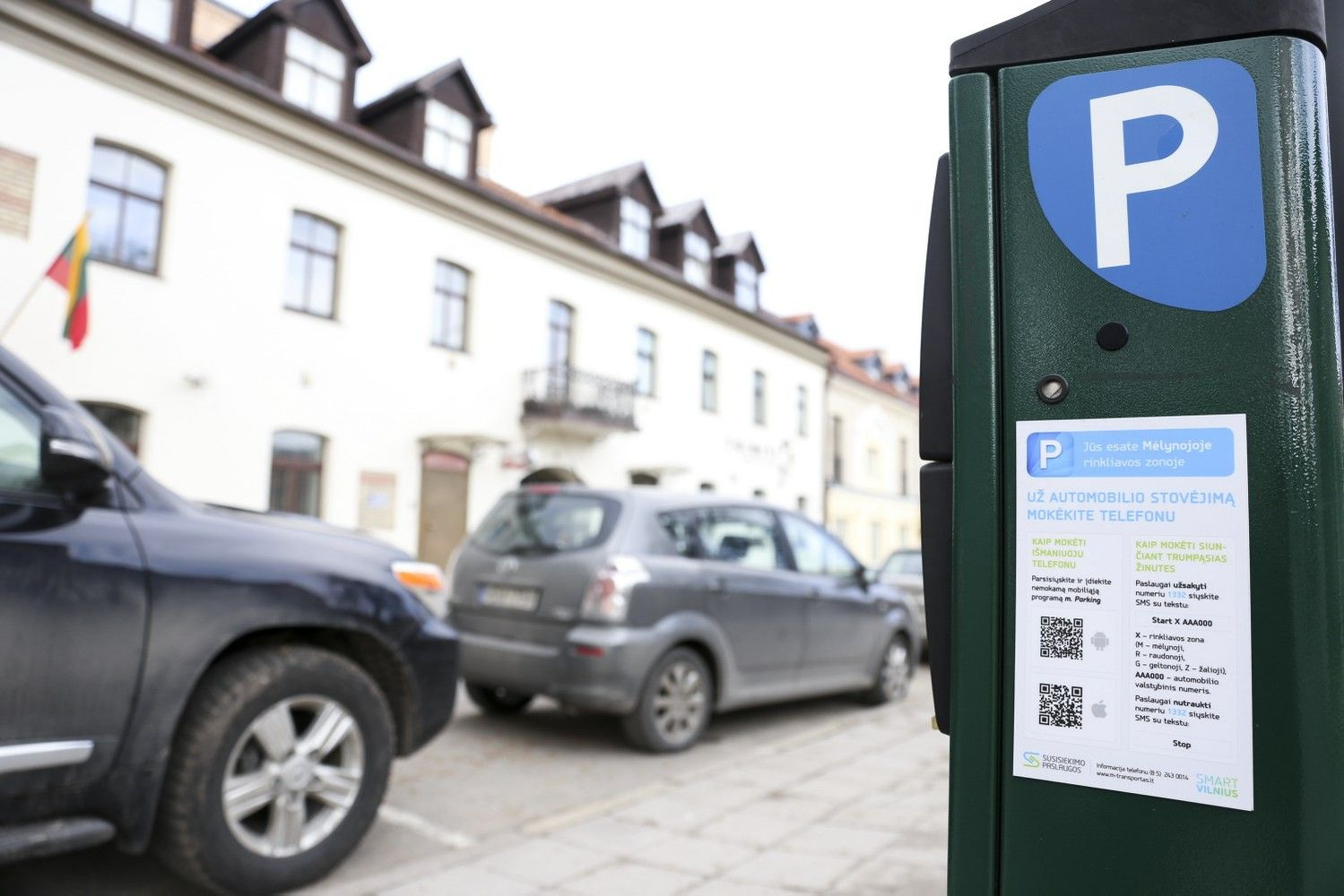Lietuviams neleido tapti parkavimo paslaugų monopolistais Estijoje