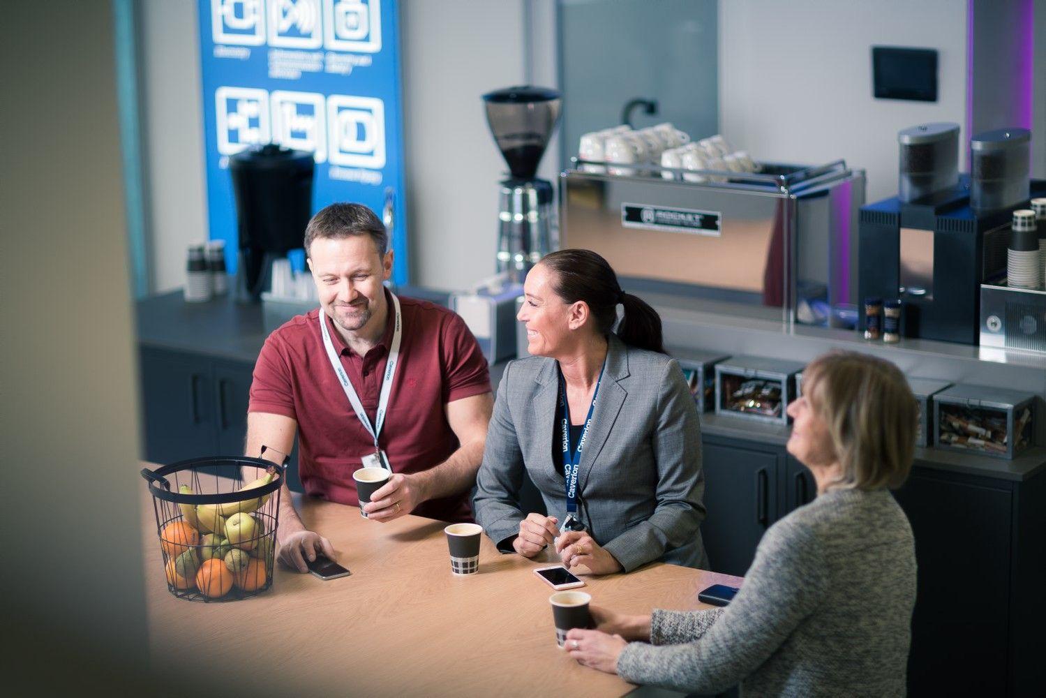 Komfortas biure– kompleksinių sprendimų rezultatas