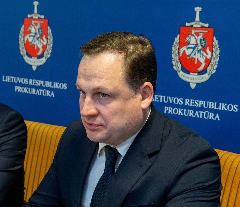 Generalinis prokuroras Evaldas Pašilis. Juditos Grigelytės (VŽ) nuotr.