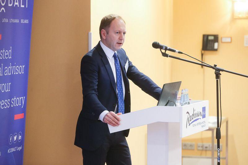 "Dr. Irmantas Norkus, ""Cobalt"" partneris Lietuvoje. Vladimiro Ivanovo (VŽ) nuotr."