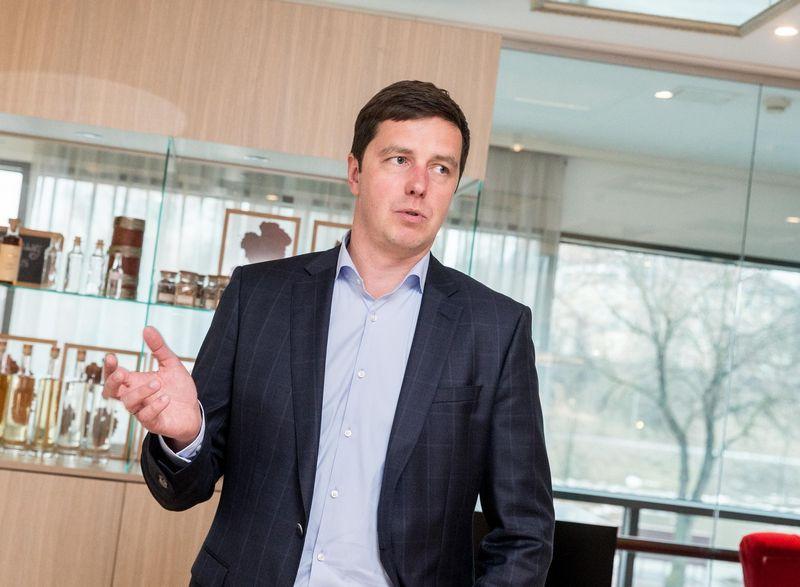 """Algirdas Čiburys, """"AB MV Group production"""" generalinis direktorius. Juditos Grigelytės (VŽ) nuotr."""