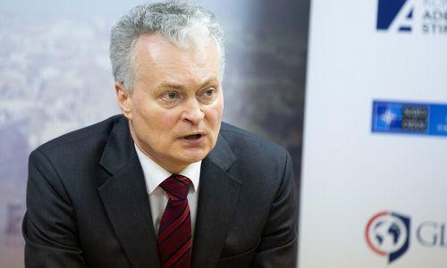 G. Nausėda pristatė užsienio politikos programą: 10 svarbiausių citatų