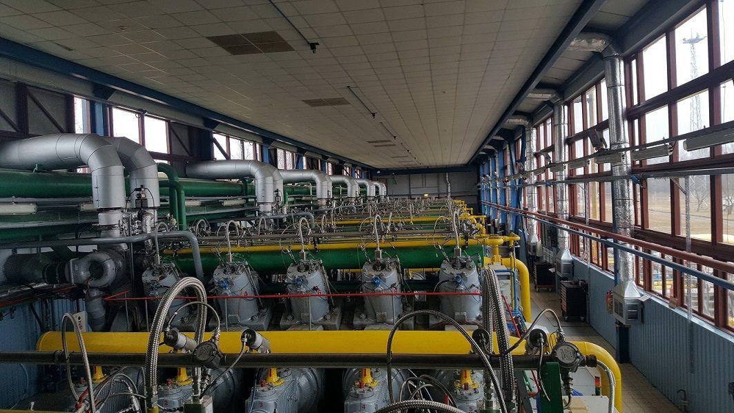 """""""Amber Grid"""" už 5,6 mln. Eur modernizavo Panevėžio kompresorių stotį"""