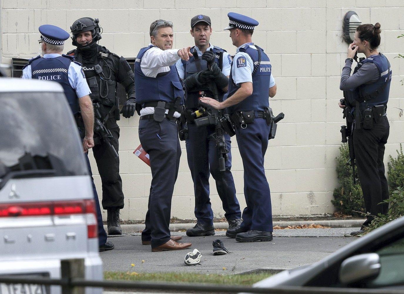 Po teroristinės atakos Naujojoje Zelandijojeauga žuvusiųjų skaičius