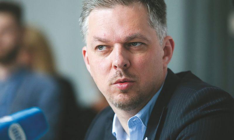 """Mindaugas Snarskis, koncerno """"Vikonda"""" generalinis direktorius: """"Išgyvename ekonominio pakilimo ciklą, vartojimas kyla ir didžioji dalis gamintojų nusigriebia grietinėlę."""" Vladimiro Ivanovo (VŽ) nuotr."""