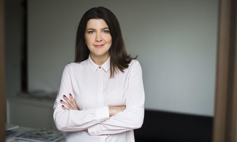 """Gabrielė Burbienė, žurnalo """"Žmonės"""" rinkodaros vadovė. Gedmanto Kropio (""""Žmonės Foto"""") nuotr."""