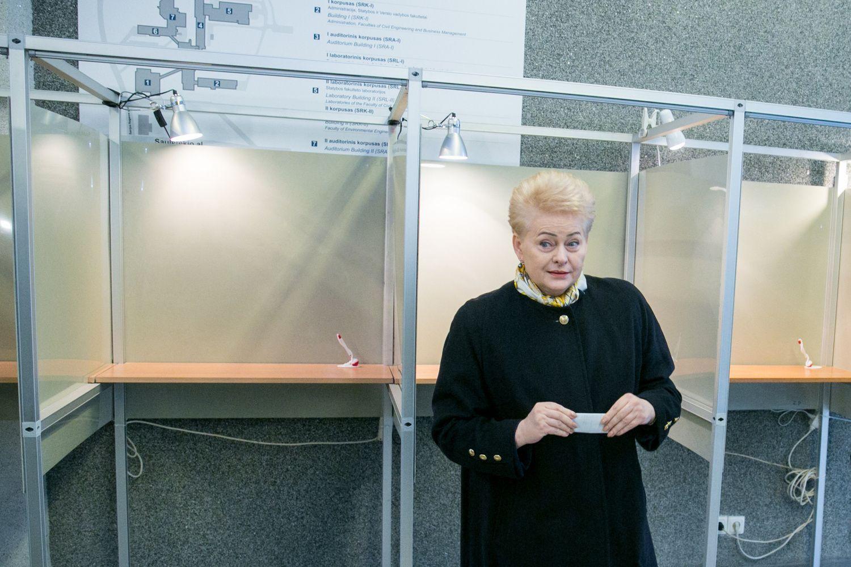 D. Grybauskaitė: premjeras daro tarptautinę gėdą