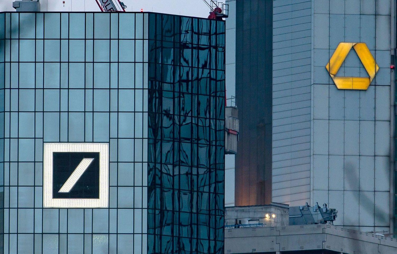 """Dėl """"Deutsche Bank"""" ir """"Commerzbank"""" jungtuvių darbo netektų 30.000 žmonių"""
