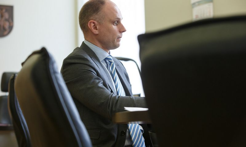 Tomas Žilinskas vidaus reikalų ministras. Vladimiro Ivanovo (VŽ) nuotr.