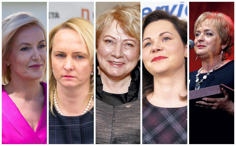 Iš 60 savivaldybių penkių vadovėmis išrinktos moterys