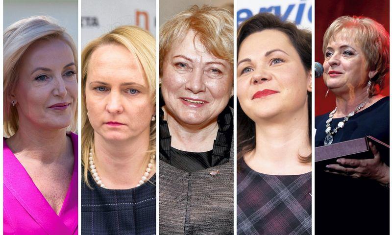 Ž. Pinskuvienė, E. Rudelienė, M. Rekst, A. Miškinienė, N. Dirginčienė. 15min.lt nuotr. / VŽ koliažas