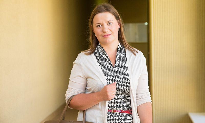 Olga Petroševičienė, naujoji advokatų kontoros WINT partnerė. Juditos Grigelytės (VŽ) nuotr.