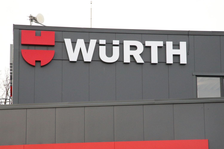 """""""Wurth"""" atidarė trečią parduotuvę Klaipėdoje"""