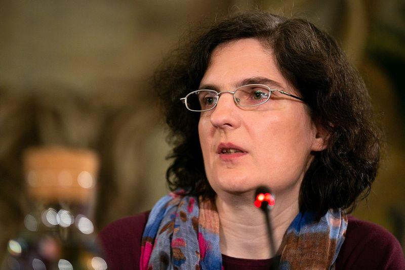 Tarptautinių santykių ir politikos mokslų instituto politologė Ainė Ramonaitė. Žygimanto Gedvilos (15min.lt) nuotr.