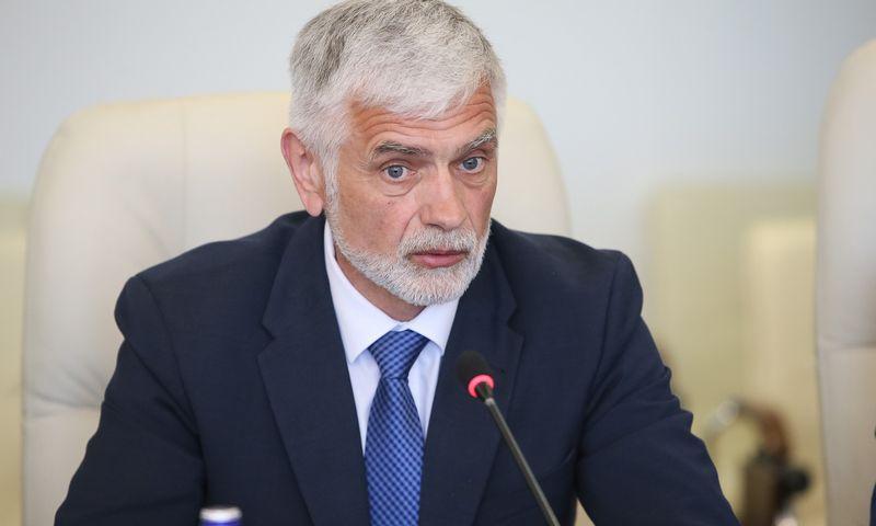 Buvęs Žemės ūkio ministras, išrinktas Klaipėdoss rajono meras Bronius Markauskas. Vladimiro Ivanovo (VŽ) nuotr.