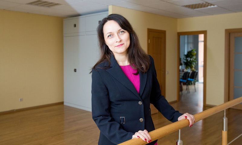 Daiva Čibirienė, Lietuvos buhalterių ir audotorių asociacijos prezidentė. Juditos Grigelytės (VŽ) nuotr.