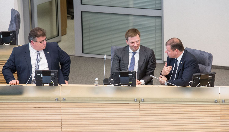Lietuvos pozicija dėl ambasados Jeruzalėje nekinta, sako ministras